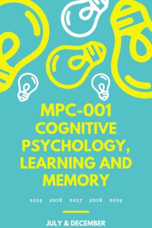 MPC-001 Solved Question Paper